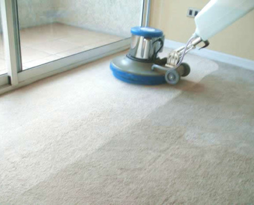 Lavado de alfombra, Limpieza de alfombra